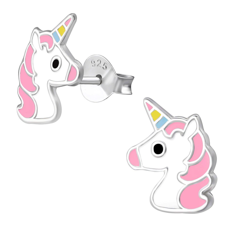 5853d4e46 Earrings, Jewelry · Best Wing Jewelry .925 Sterling Silver Unicorn ...