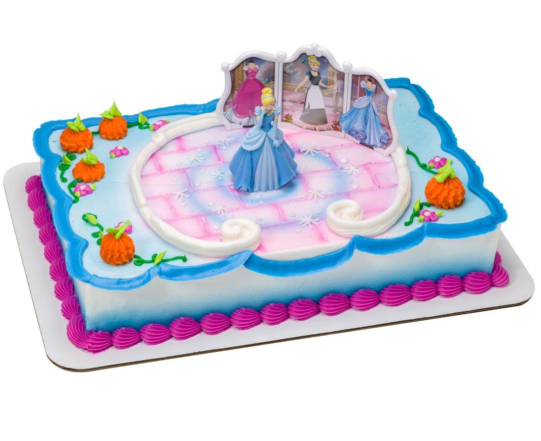 Amazoncom DecoPac Disney Princess Cinderella Transforms DecoSet