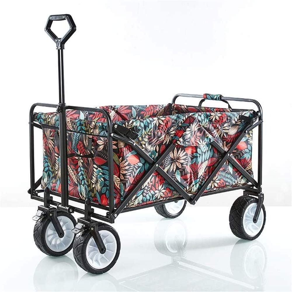 WH-IOE Carrito de Jardín Jardín de la Carretilla Plegable Carro de la Compra de Altas Prestaciones Mesa con rodante (Color : As Shown, Size : 100x58x113cm): Amazon.es: Hogar
