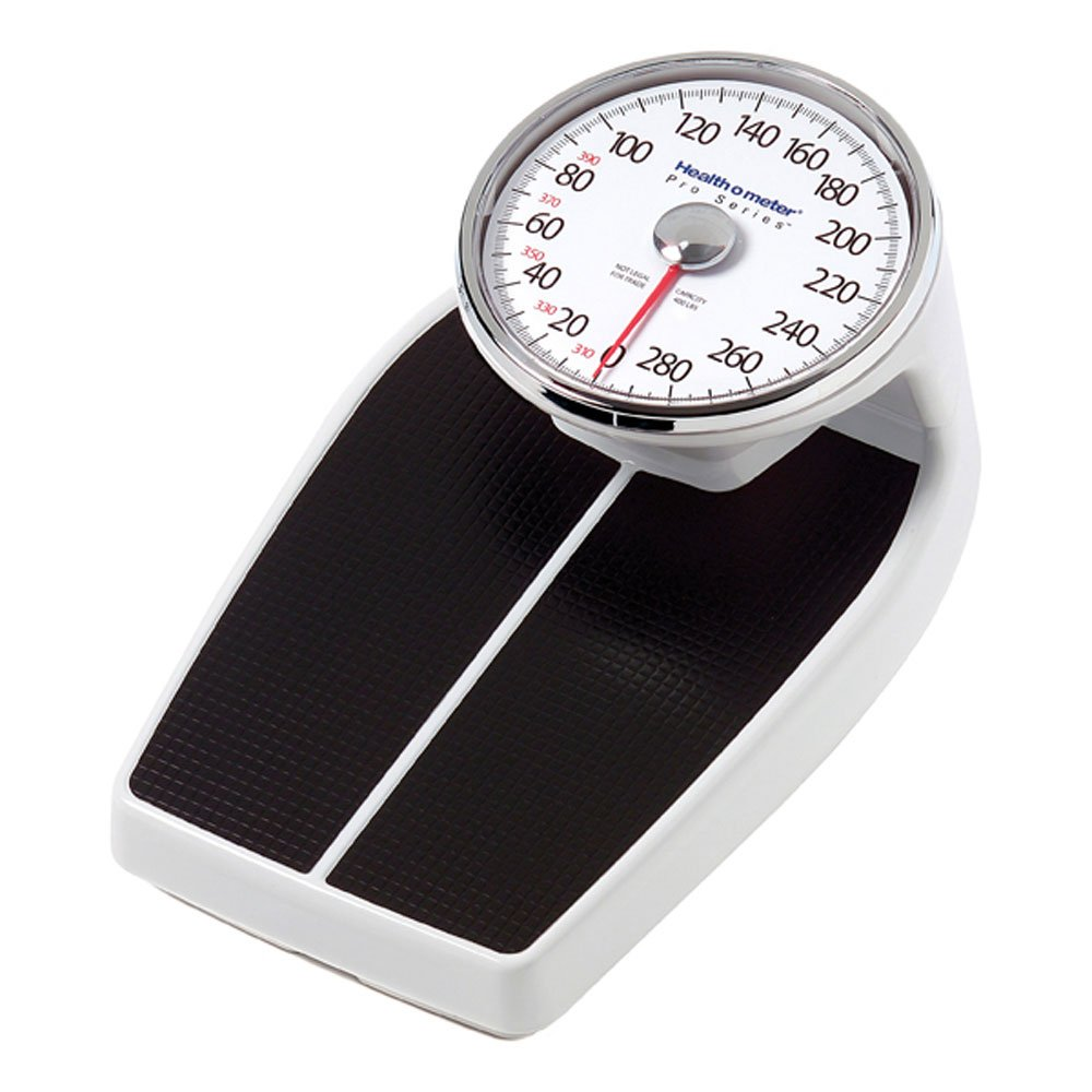 Health o meter Large Raised Dial Scale, Black by Health o meter