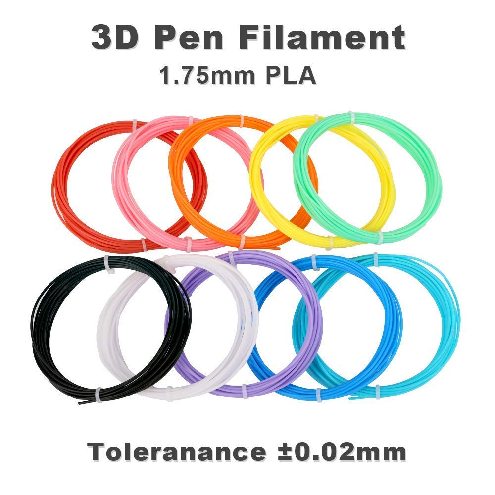 PVC Drawing Board 3D Drawing Stencils for Kids Adults Fede 3D Drawing Printing Printer Pen 3D Pen with LCD Display Non-Clogging 3D pen with 12 Colors 132 Feet PLA Filament