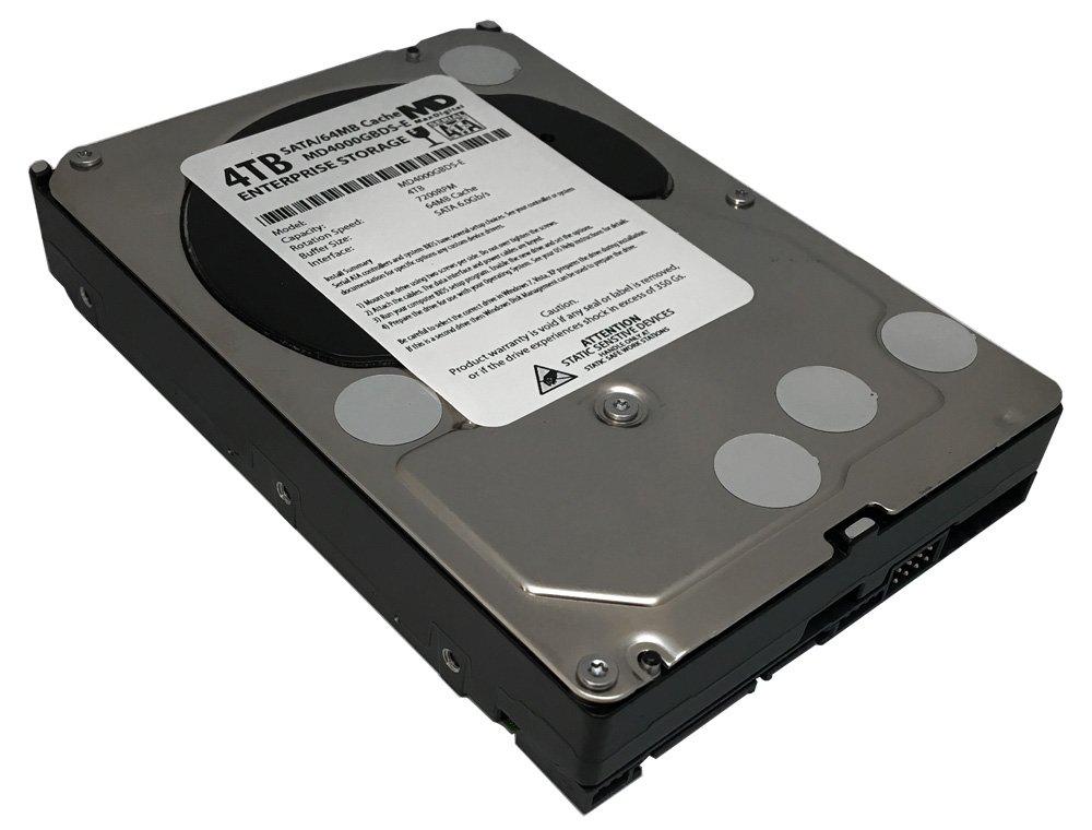 MaxDigital 4TB 7200RPM 64MB Cache SATA III 6.0Gb/s (Enterprise Storage) 3.5'' Internal Hard Drive w/2 Year Warranty by MaxDigital (Image #1)