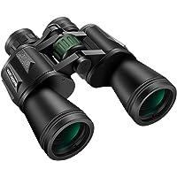K&F Concept Jumelle Compacte 10 x 50 HD TC007 Binoculaires à Large Champ Étanche BAK4 Prisme Revêtement Vert Téléscope pour Observation Oiseaux, Chasse, Randonnée, Concert