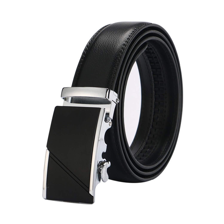 leather strap male automatic buckle belts for men authentic girdle trend mens belts ceinture Fashion designer women jean belt,Silver31,120cm