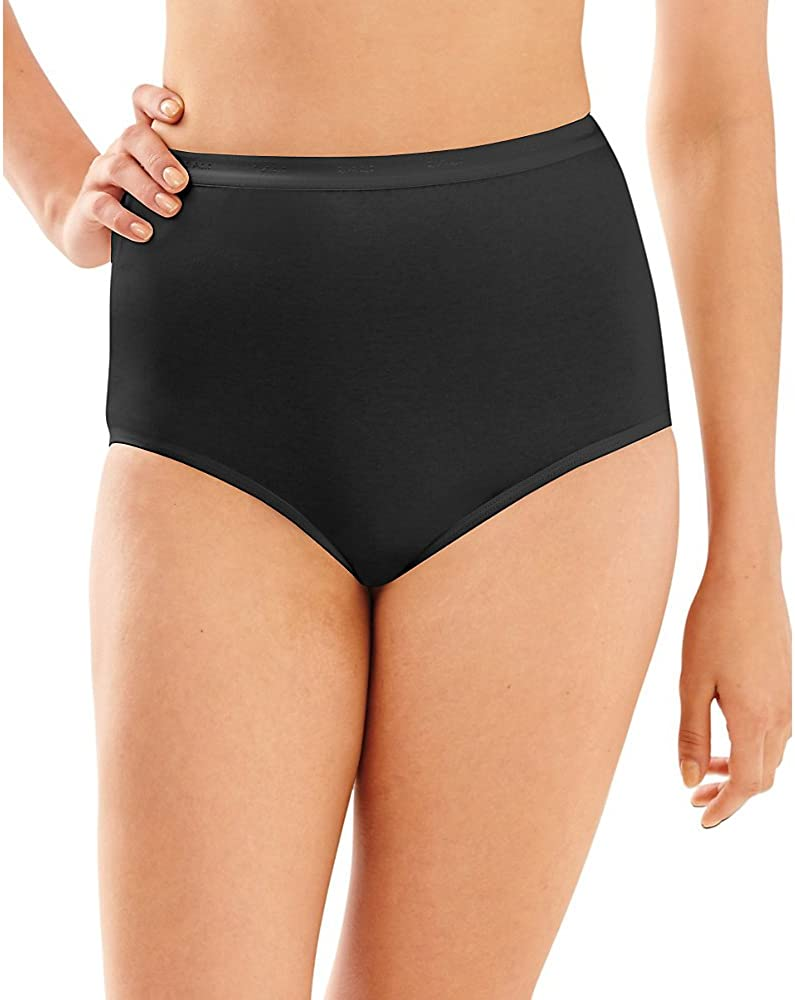 Bali Women's Full-Cut-Fit Stretch Cotton Brief