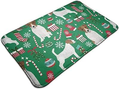 Amazon Com Jack Russell Terrier Christmas Fabric Jack