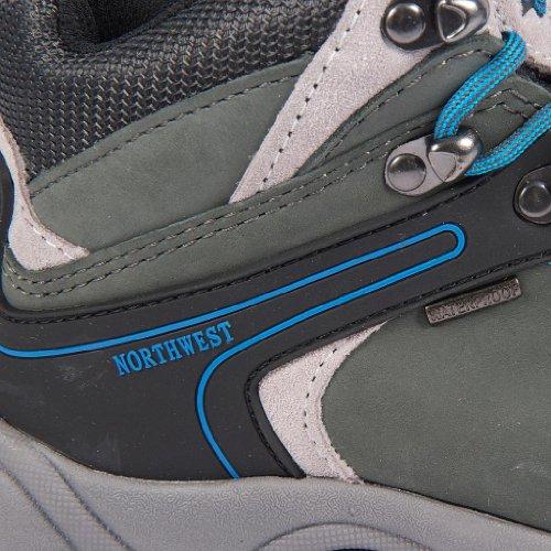 Northwest - Botas de senderismo de sintético para mujer azul - Grey/Electric Blue