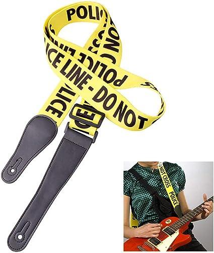 XKSIKjians - Accesorio para guitarra eléctrica, línea policial ...