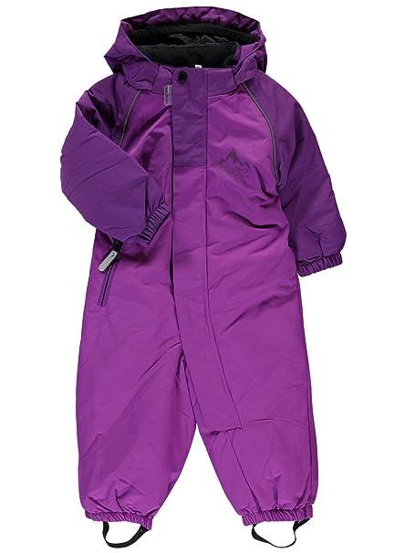 NAME IT - Traje de nieve - Básico - para bebé niña purple ...