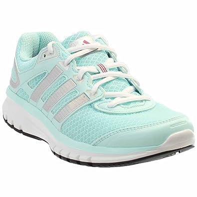 adidas Performance Women's Duramo 6 W Running Shoe, Frost Mint F14/Metallic  Silver/