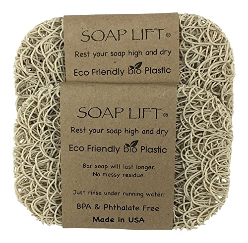 (Soap Lift Bone Soap Dish, Two Pack)