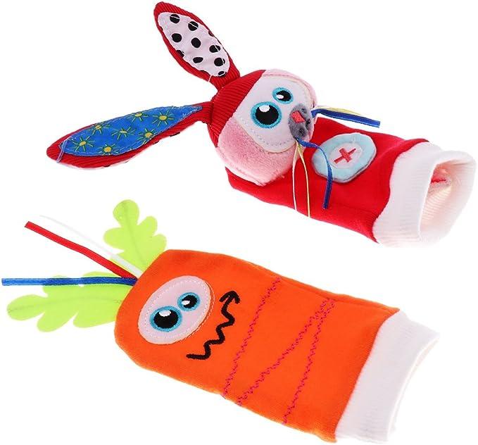 MagiDeal Calcetines Juguetes Sensoriales para Bebés Calcetines de Pie- buscador Pulsera de Cascabeles - Multicolor1: Amazon.es: Juguetes y juegos