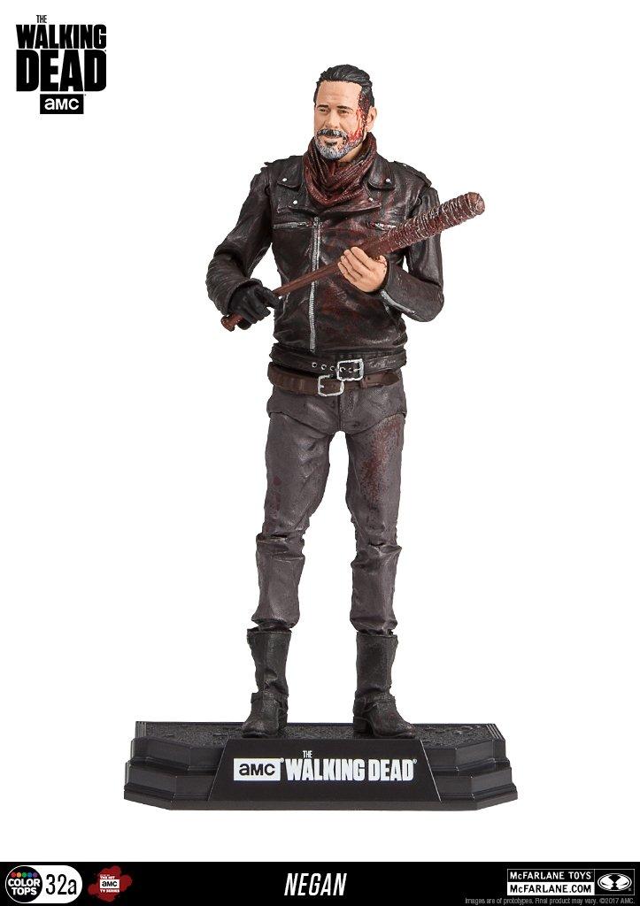 Negan Blutig Version (The Walking Dead) McFarlane 7 Zoll Figur Star Images
