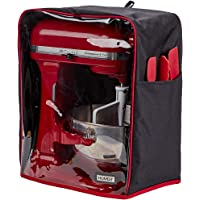 HOMEST Visible Stand Mixer Dust Cover with Pockets Compatible with KitchenAid (Patent Pending)