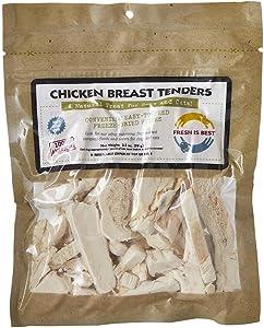 Fresh Is Best Freeze Dried Raw Chicken Breast Tenders - Dog & Cat Treats (Chicken Breast Tenders)