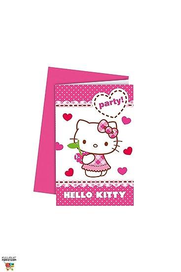 Procos Hello Kitty Einladungskarten Envelop: Amazon.de: Computer ...