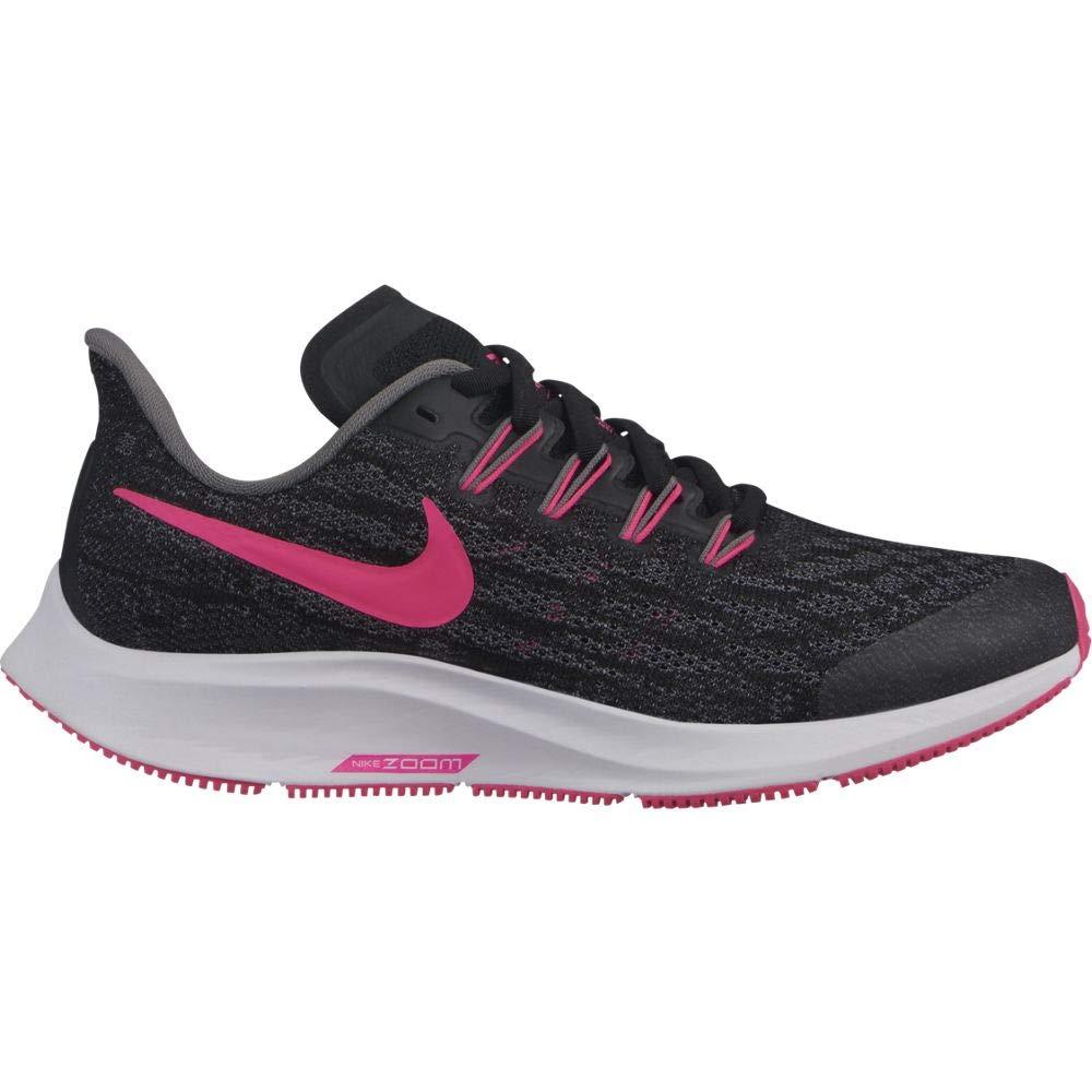 MultiCouleure (noir Hyper rose Gunsmoke blanc 62) 35 EU Nike Air Zoom Pegasus 36 (GS), Chaussures d'Athlétisme Mixte Enfant
