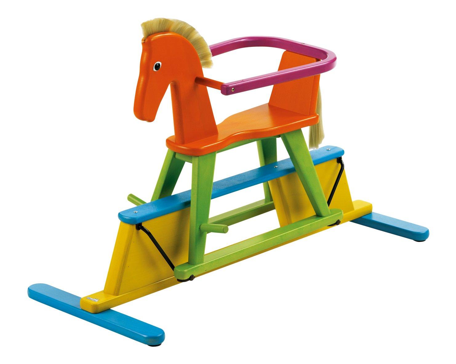 Geuther - GS Siegel, Kinderschaukel Swingly, abnehmbarer Schutzring, funny
