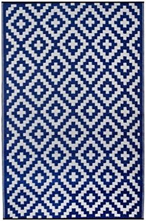 Taille Unique Bleu Marine ambientair r150240ana Tapis ext/érieur 150/x 240