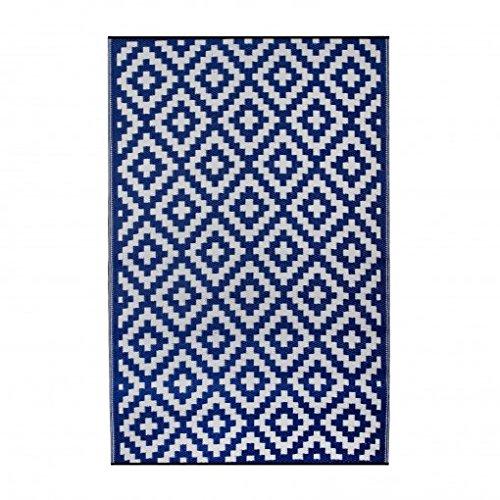 Azul Ambientair Alfombra Exterior 120x180