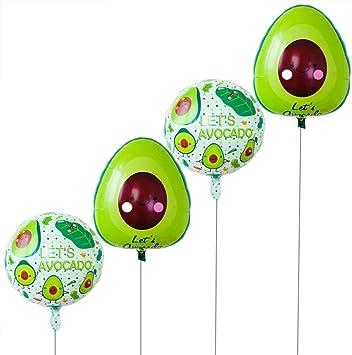 avocado balloon fruit balloon party decorations kids wedding xmas supply  X