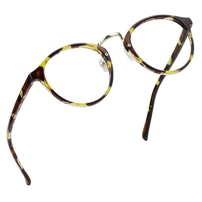 LifeArt gafas de anti-rayo azul, gafas de lectura en computadora ...