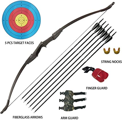 30 IBS Archery Recurve Bow American Hunting Bows For Arrow Practice 3 Colors
