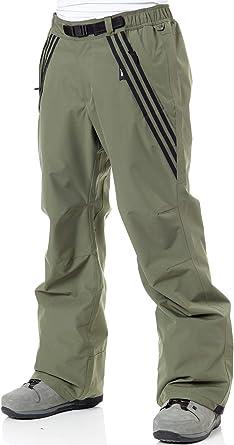 aceptable rutina Hacia  Adidas Pantalón De Snowboard Riding Base Verde-Negro (XL, Verde):  Amazon.es: Ropa y accesorios