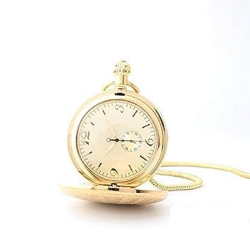 Lx pocket watch Nuevo Reloj de Bolsillo mecánico de Cobre Antiguo Hombre Creativo Reloj Horizontal Grande Reloj de Bolsillo Digital Mesa Antigua Mesa ...