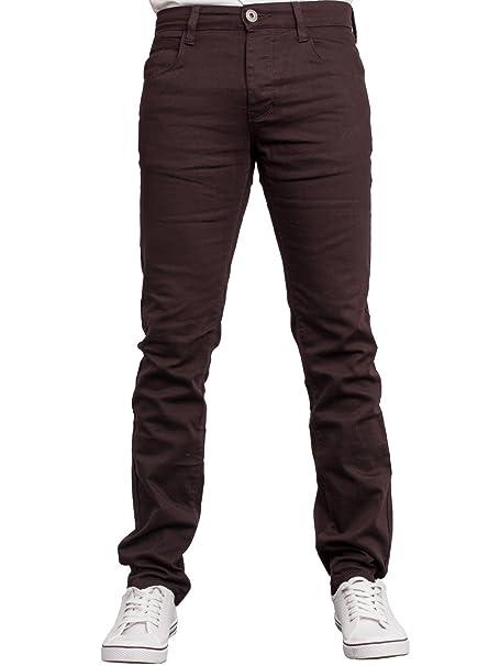 Enzo EZ340 - Pantalones Vaqueros para Hombre, Ajustados ...