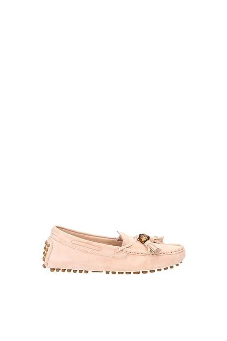 Gucci 370695C6G006814 Mocassins, Diseño de Mujer, Color Rosa, Rosa (Rosa), 35: Amazon.es: Zapatos y complementos