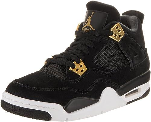 Jordan Nike Kids Air 4 Retro BG Black