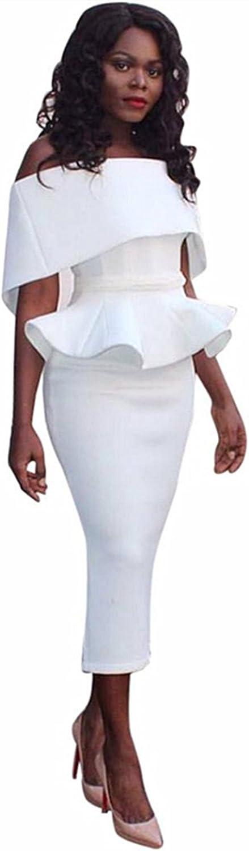 Honestyi Damen Gro/ße Gr/ö/ße B/üro Dame Formal Business Work Abend Partei Elegantes Mermaid Bleistift-Kleid Cocktailkleider Slim Partykleider