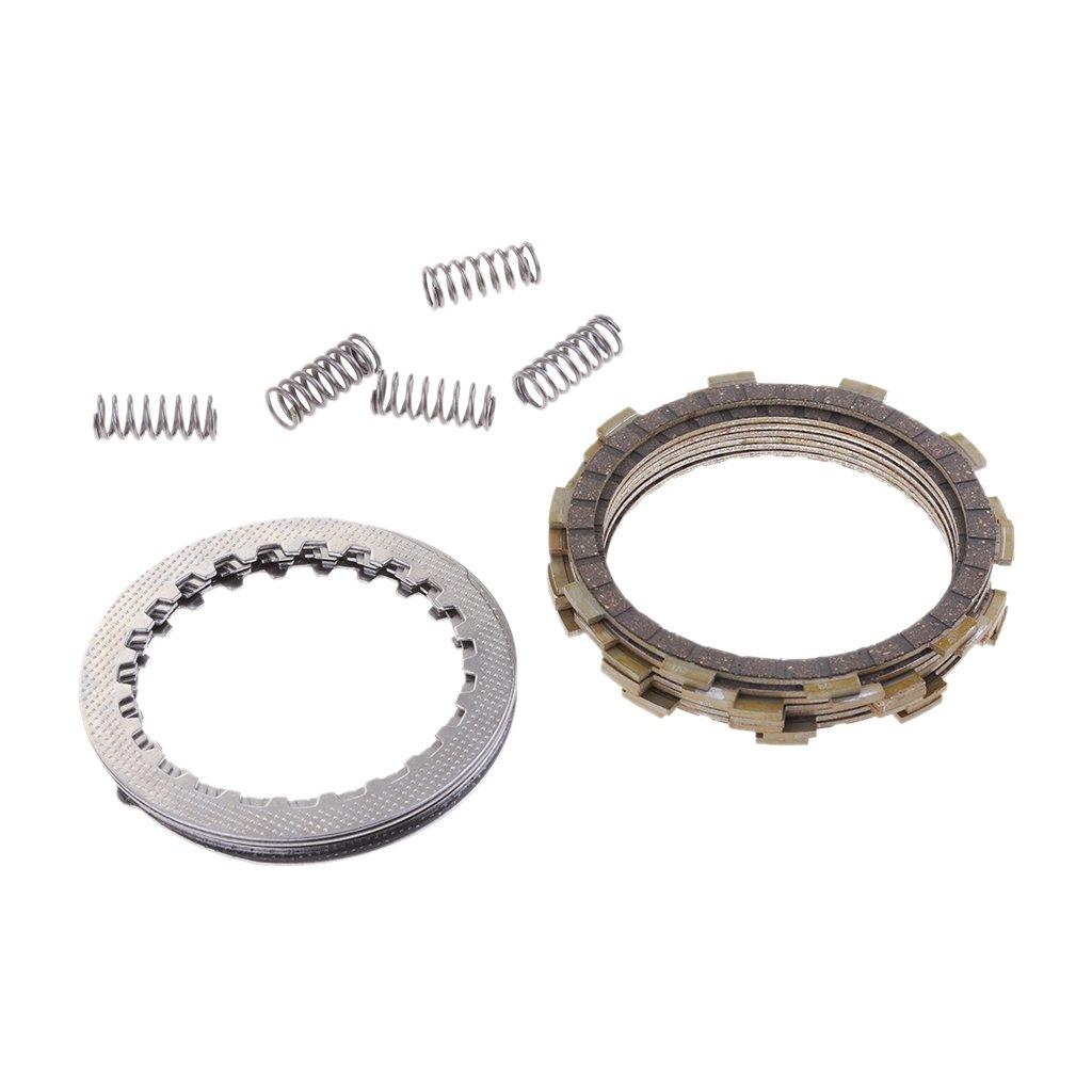MonkeyJack Clutch Kit Plates for Yamaha RAPTOR 700 2006– 2015 ATV Friction Steel Spring