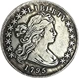 BoBoLing Best Morgan US Dollars-1795 US Old Coin Collecting - Uncirculated Great American Coin - USA Old Original Pre Morgan Dollar Goods