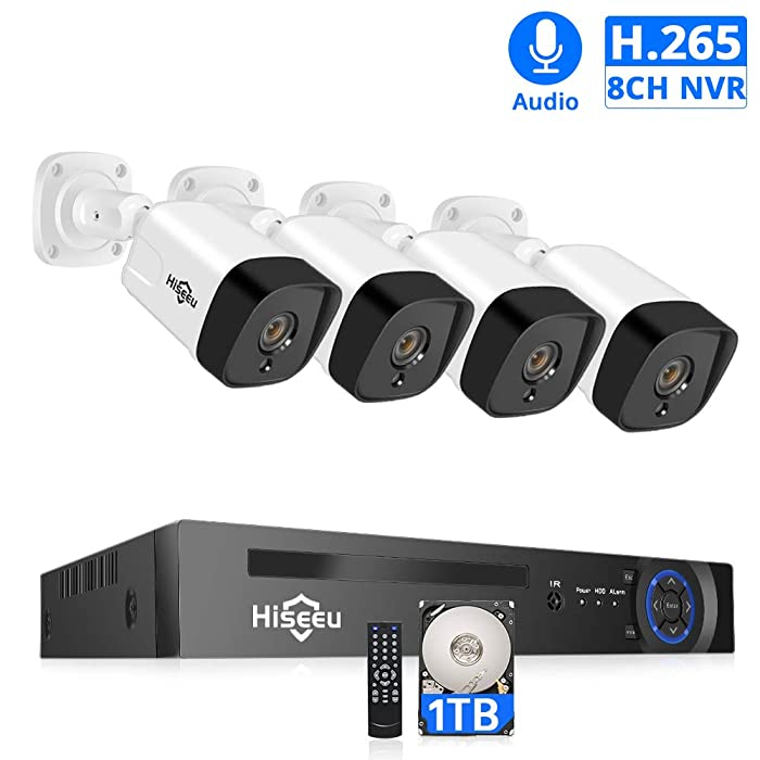 Updated 2021 – Top 10 Home Surveillance System Poe
