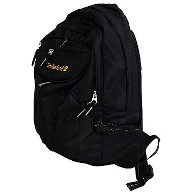 Mens Boys Timberland Earthkeepers Whiteledge Black Backpack School ... 555636a83
