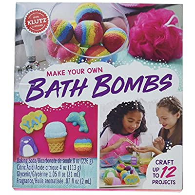 Klutz KLZ815880 Make Your Own Bath Bombs: Home & Kitchen