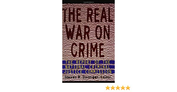 commission crime criminal justice national real report war