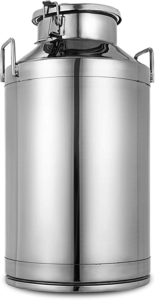 Milk Can 5 liter milk container High Quality Stainless Material Kitchen Item