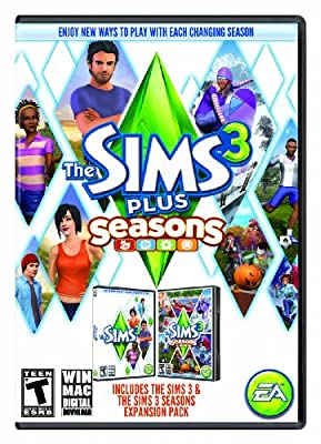 The Sims 3 Plus Seasons (Mac) [Online Game Code]