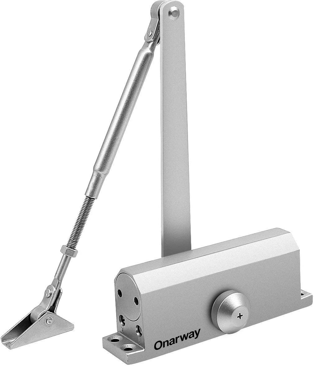 35kg Automatic Hydraulic Door Closer Commercial Residential Close Bracket USA
