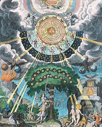 Alchemy, Tree of Life Poster Print by Science Source