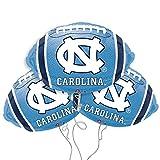 North Carolina Logo College Football Mylar Balloon 3 Pack
