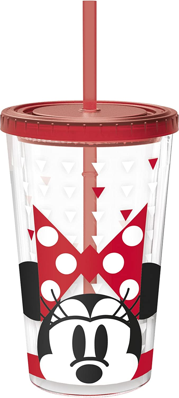 Minnie Mouse STOR 1415 Vaso Doble Pared caf/é Helado 473 ml