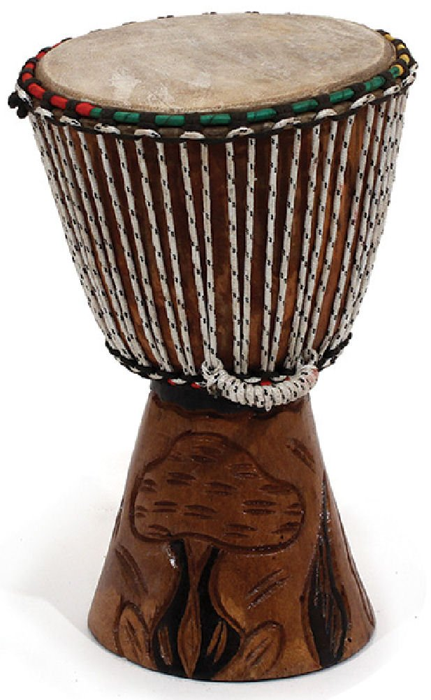 10''-12'' Small Handmade Djembe Drum - Traditional African Musical Instrument by African Music
