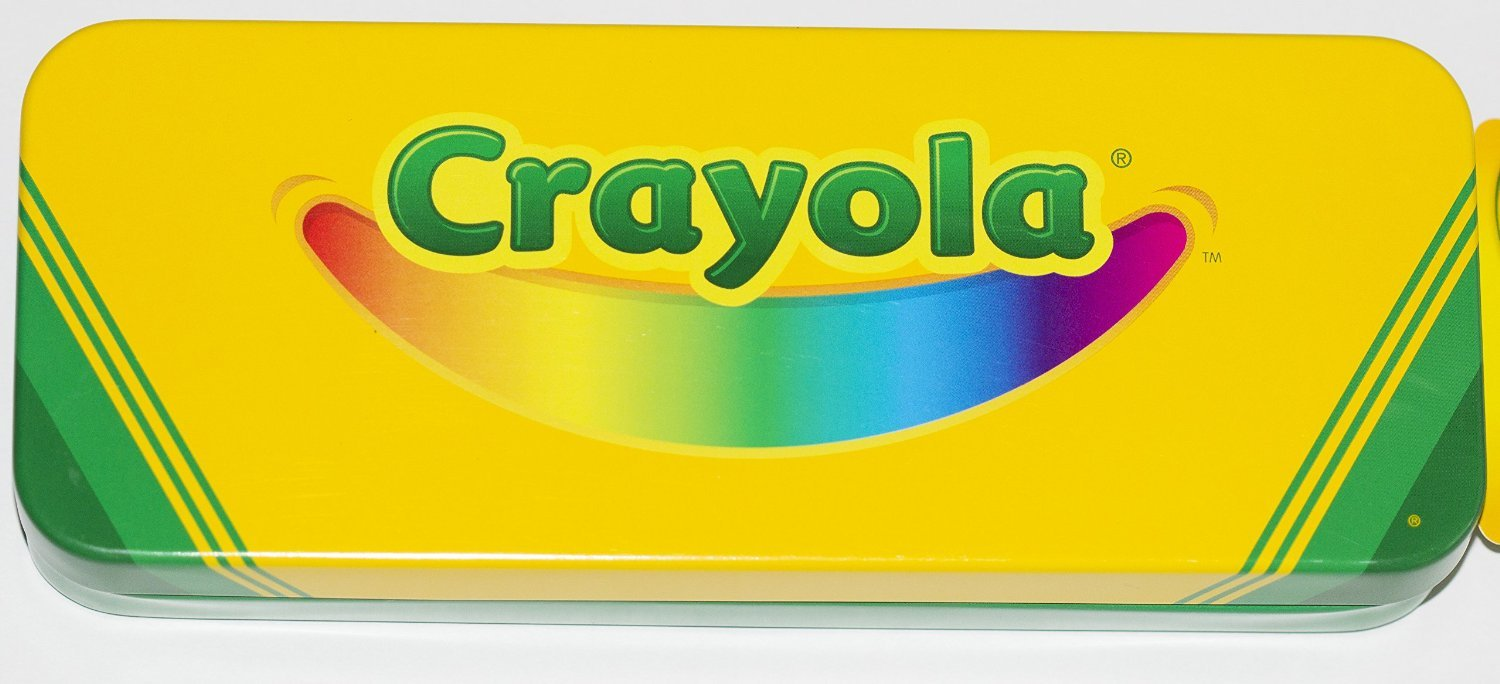 sc 1 st  Amazon.com & Amazon.com: Crayola Tin Pencil / Crayon Storage Box 8