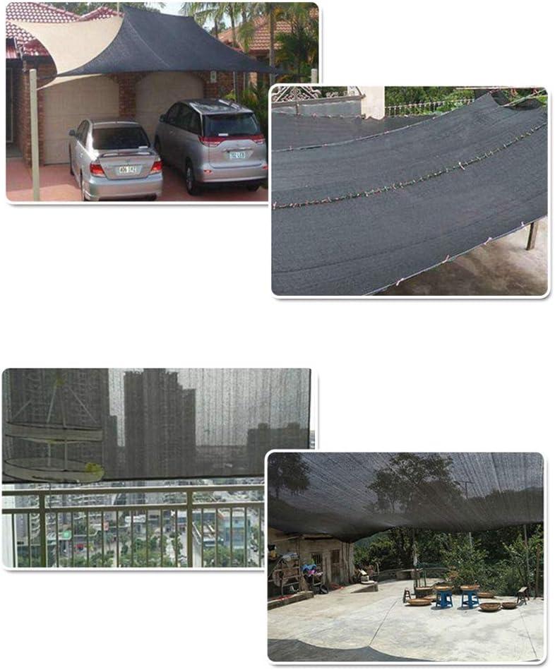 JIANJIAO Malla de sombreo, Utilizada Cobertizo del Jardín del Balcón para Mascotas, Puede Ser A Prueba De Viento, Preservación del Calor, Humectación Y Protección UV,3x3m(10 * 10ft): Amazon.es: Hogar