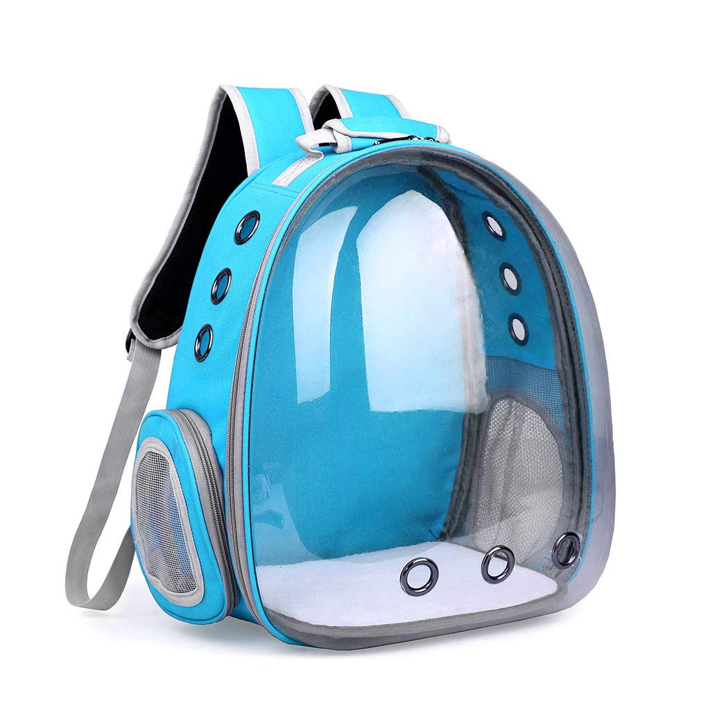 LB Yeahii Breathable Transparent Space Capsule Pet Cat Puppy Travel Space Backpack Carrier Bag