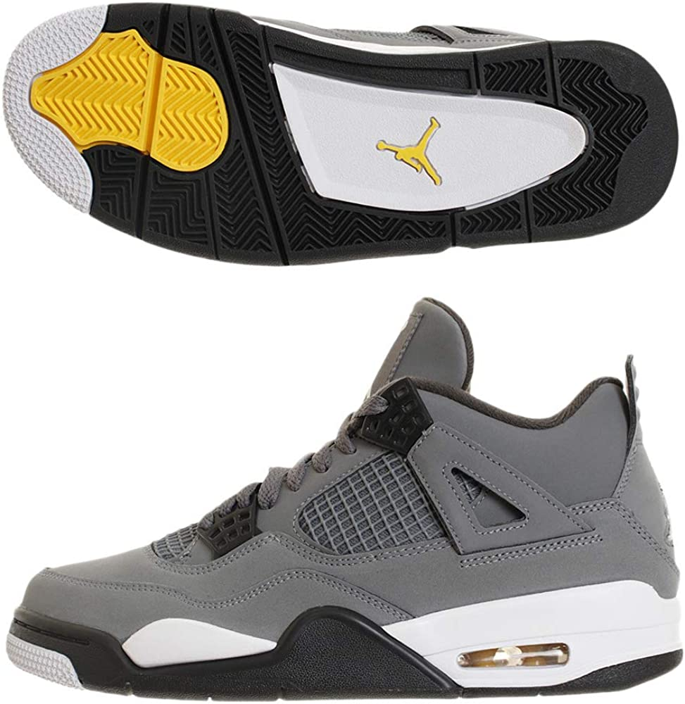 jordans 4s grey